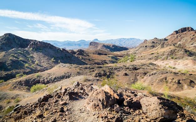 Piękny Widok Na Pustynię W Arizonie W Usa Darmowe Zdjęcia