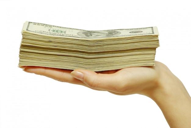 Pieniądze W Kasie Premium Zdjęcia