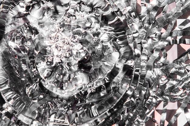 Pierścienie Wodne Ze Srebrnymi Diamentami Darmowe Zdjęcia