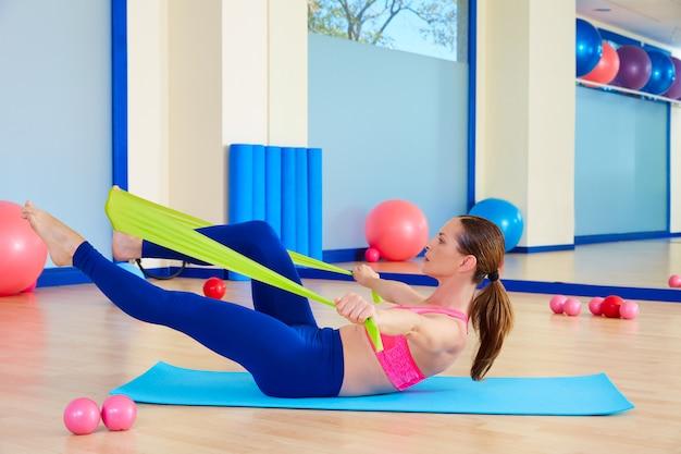 Pilates damski z gumką Premium Zdjęcia