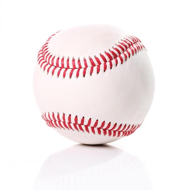Piłka Baseballowa Na Białym Tle Darmowe Zdjęcia