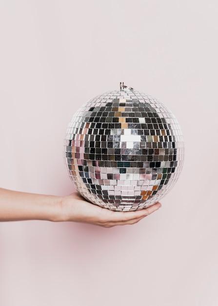 Piłka disco odbędzie się na imprezie noworocznej Darmowe Zdjęcia
