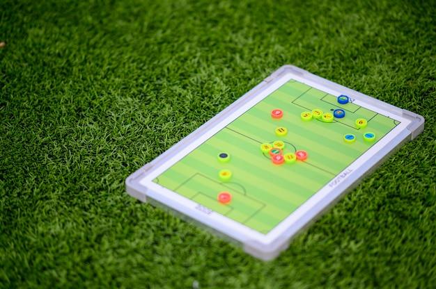 Piłka nożna gra planszowa Premium Zdjęcia