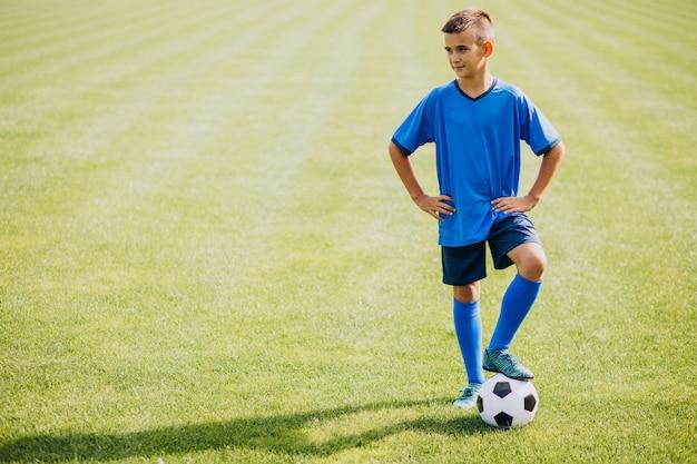 Piłkarz Grający Na Boisku Darmowe Zdjęcia