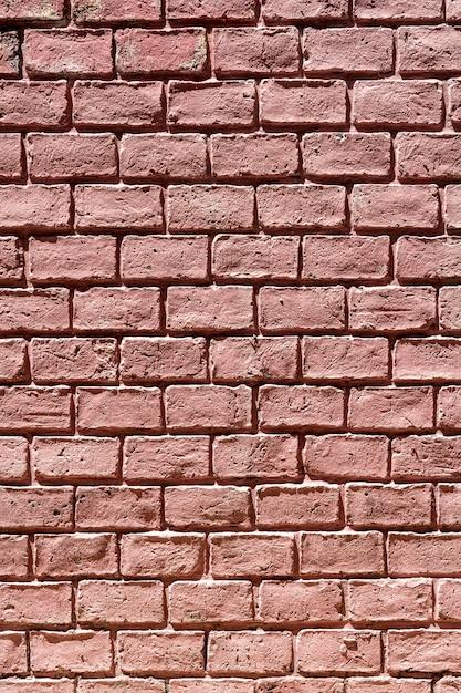 Pionowe Kopia Przestrzeń Ceglany Mur W Tle Darmowe Zdjęcia