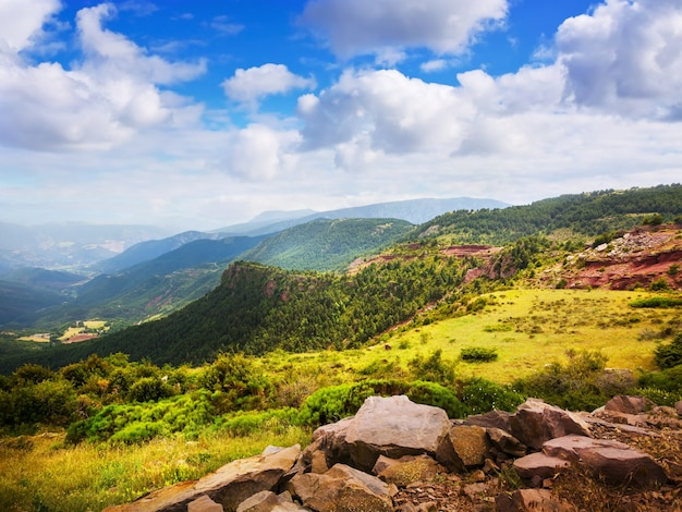 Pireneje krajobraz gór w lecie Darmowe Zdjęcia