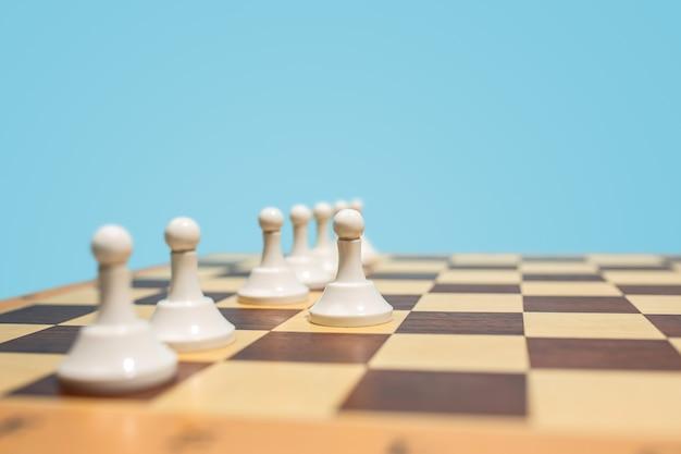 Plansza Szachowa I Koncepcja Pomysłów Biznesowych I Konkurencji. Darmowe Zdjęcia