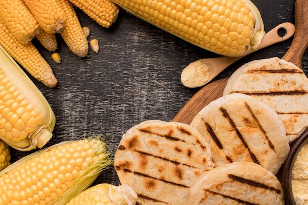 Płaski Układ Kukurydzy I Arep Darmowe Zdjęcia
