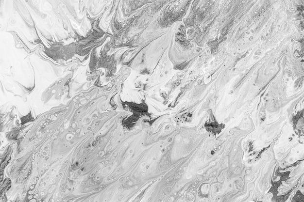 Płaskie Leżał Białe Tło Tłustej Wody Darmowe Zdjęcia