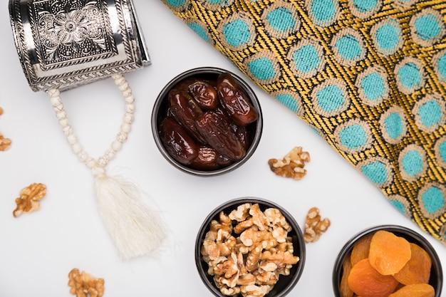 Płaskie Przekąski Na Dzień Ramadanu Darmowe Zdjęcia