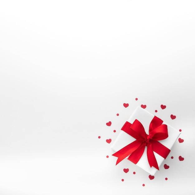 Płaskie Ukształtowanie Koncepcji Pięknych Walentynek Darmowe Zdjęcia