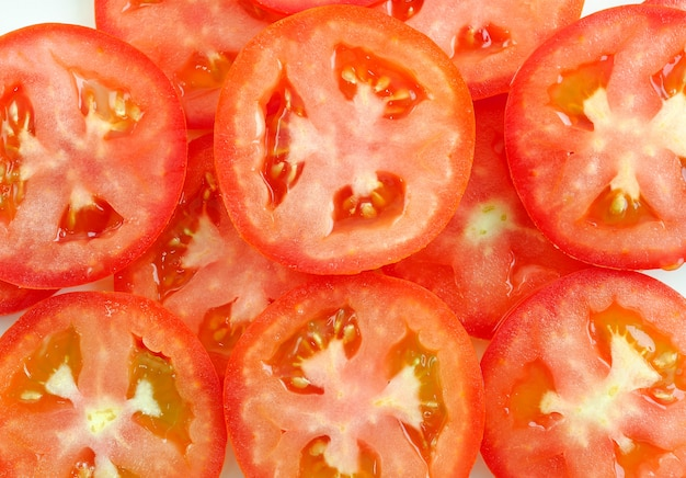 Plasterek Pomidora Premium Zdjęcia