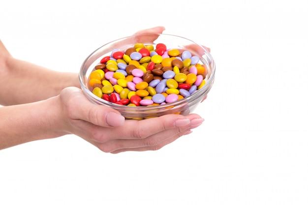 Po Prostu Kocham Cukierki! Premium Zdjęcia