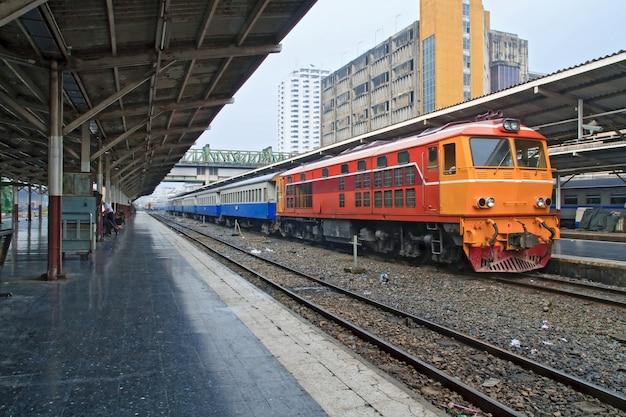 Pociąg Lokomotyw Spalinowych Premium Zdjęcia