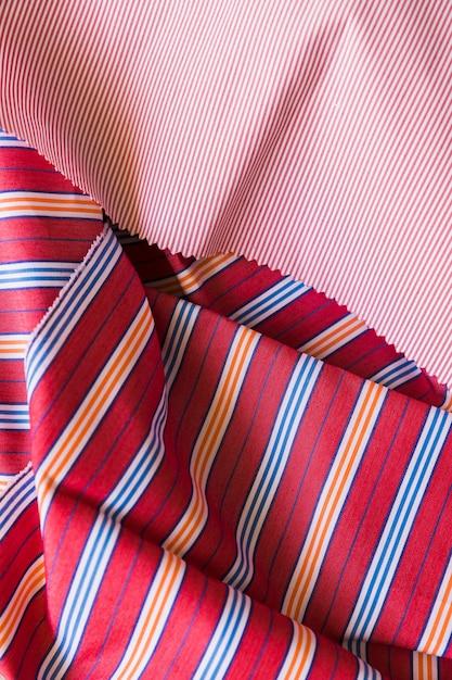Podniesiony widok kolorowej bawełnianej odzieży Darmowe Zdjęcia