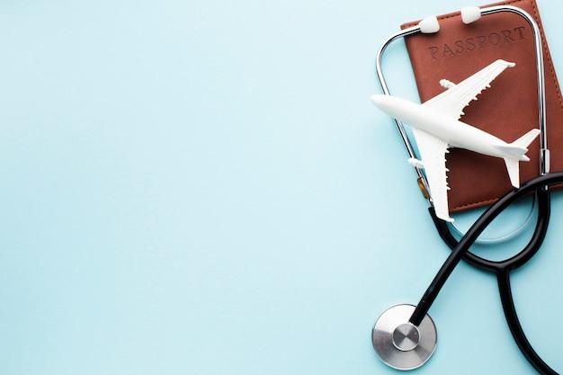 Podróż Ubezpieczenie Medyczne Z Samolotu Kopii Przestrzeni Darmowe Zdjęcia