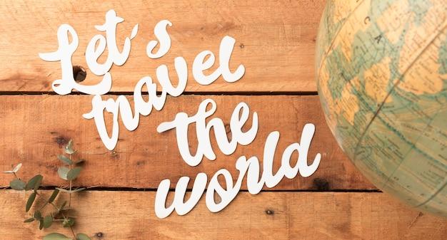 Podróżuj Po świecie Z Planetą Darmowe Zdjęcia