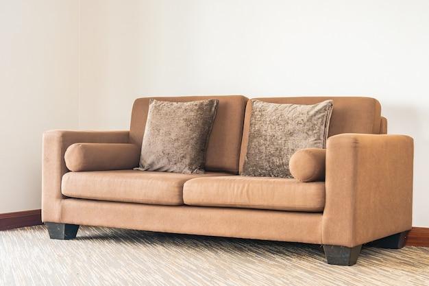 Poduszka Na Sofę Dekorująca Wnętrze Salonu Darmowe Zdjęcia