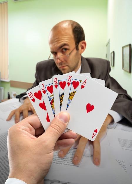 Poker Biznesowy Premium Zdjęcia