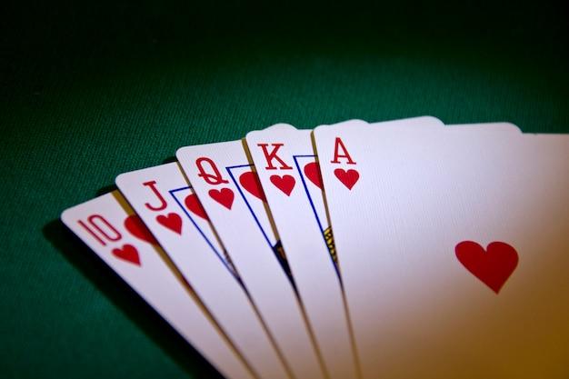 Poker Królewski Premium Zdjęcia