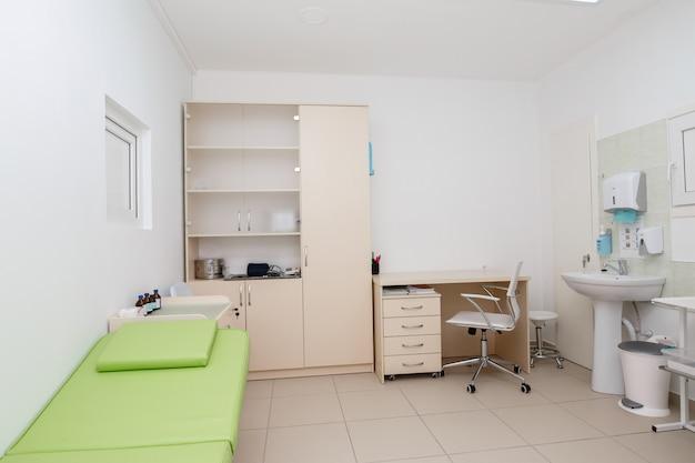 Pokój W Szpitalu. Gabinet Lekarza. Pokój Lekarski Z Bliska Premium Zdjęcia