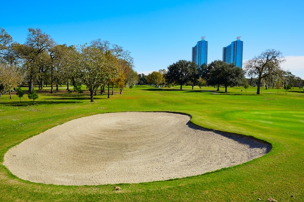 Pole Golfowe Houston W Parku Hermann Premium Zdjęcia