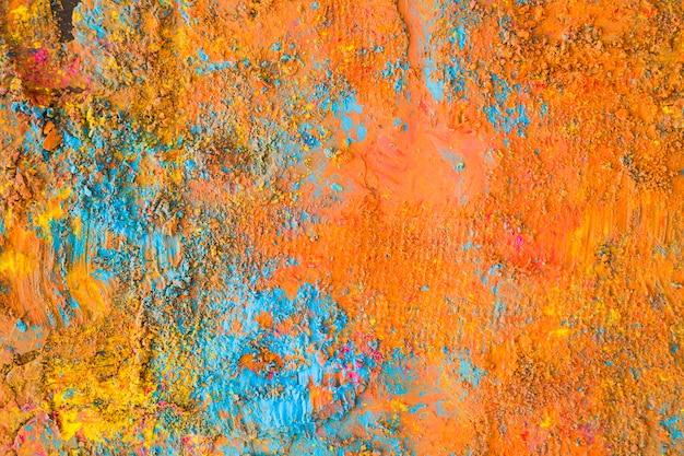 Pomarańczowo-niebieska Powierzchnia Malowana Darmowe Zdjęcia