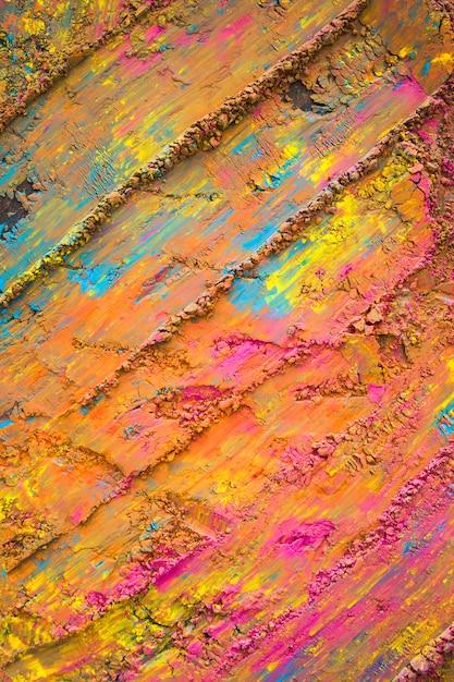 Pomarańczowy Malowane Tła Powierzchni Darmowe Zdjęcia
