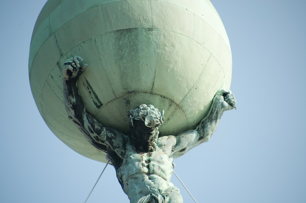 Pomnik amsterdam, holandia Premium Zdjęcia