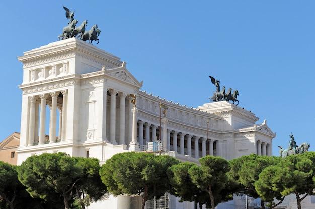 Pomnik Vittoriano Premium Zdjęcia