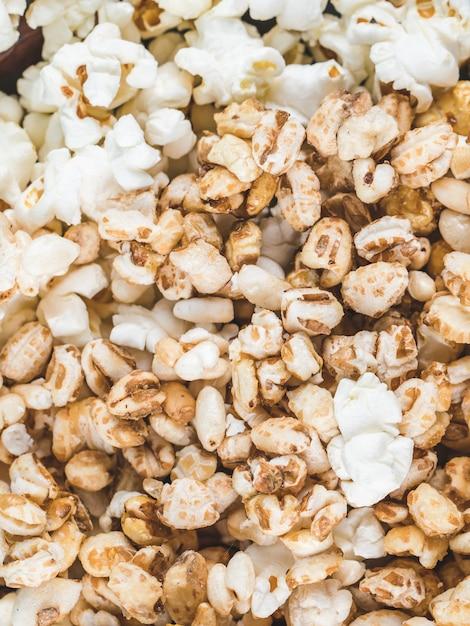 Popcorn Z Kukurydzą Karmelową I Pszenną Darmowe Zdjęcia