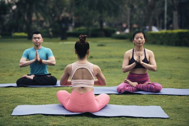 Poranna medytacja Darmowe Zdjęcia