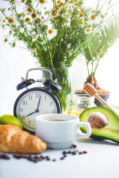 Poranne śniadanie Premium Zdjęcia