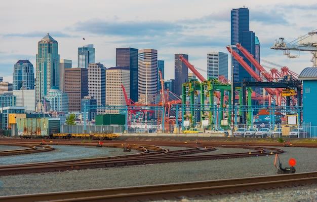 Port W Seattle District Darmowe Zdjęcia