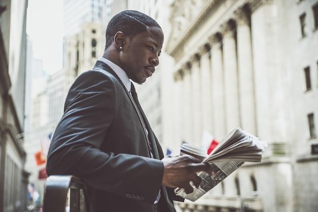 Portret Człowieka Biznesu Premium Zdjęcia