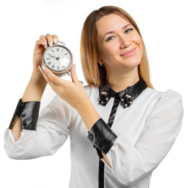 Portret kobiety biznesu Premium Zdjęcia