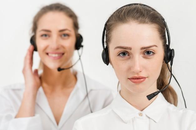 Portret kobiety call center Darmowe Zdjęcia