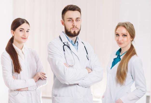 Portret Lekarzy. Premium Zdjęcia