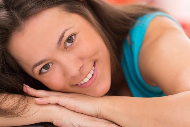 Portret młodej kobiety piękne Darmowe Zdjęcia