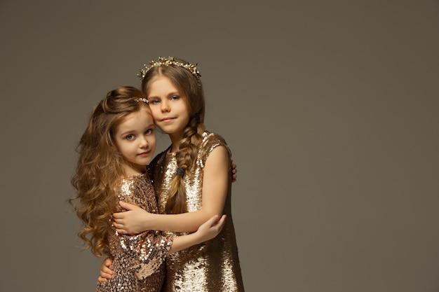 Portret Moda Młodych Pięknych Nastolatek Darmowe Zdjęcia