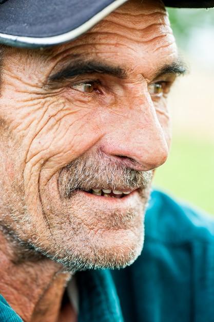 Portret starca Premium Zdjęcia