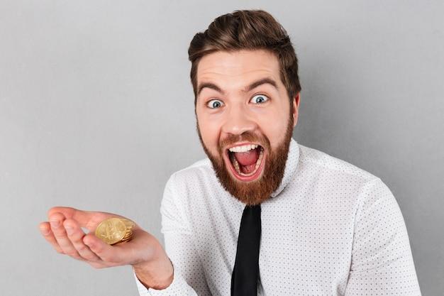Portret Szczęśliwy Biznesmen Darmowe Zdjęcia