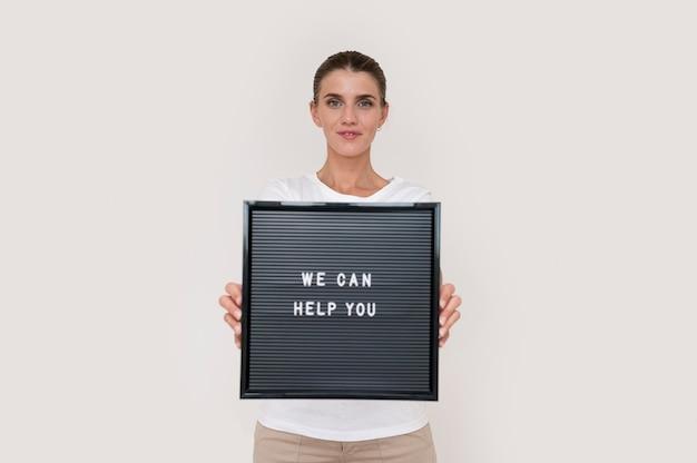 Portret Wolontariusza Humanitarnego Darmowe Zdjęcia