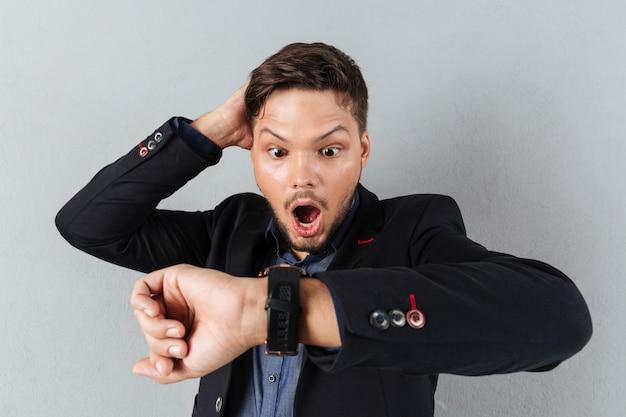 Portret Zdziwiony Biznesmen Darmowe Zdjęcia