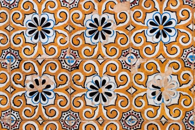 Portugalskie kafelki azulejo Premium Zdjęcia