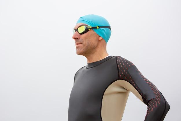 Poważny Pływak Darmowe Zdjęcia