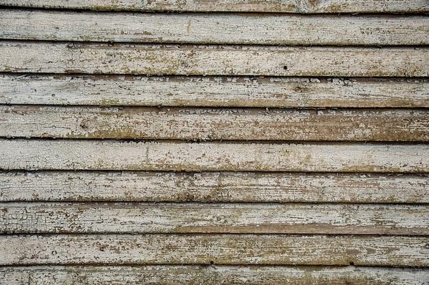 Poziomy Stary Drewniany Tło Z Naturalnym Wzorem Premium Zdjęcia