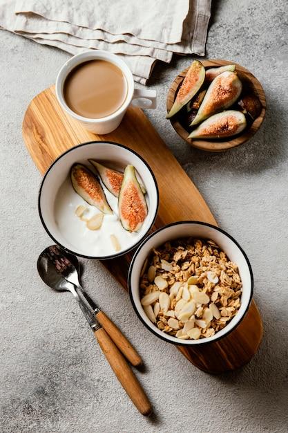Pożywna Kompozycja Posiłku śniadaniowego Darmowe Zdjęcia