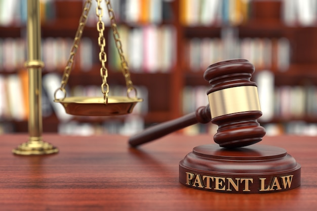 Prawo patentowe Premium Zdjęcia