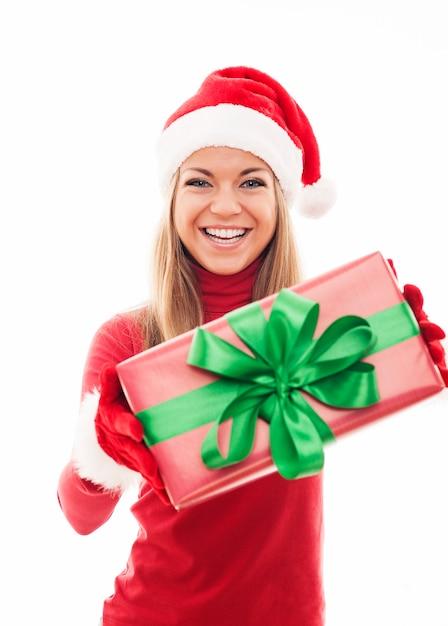 Prezent świąteczny Ode Mnie Dla Ciebie! Darmowe Zdjęcia
